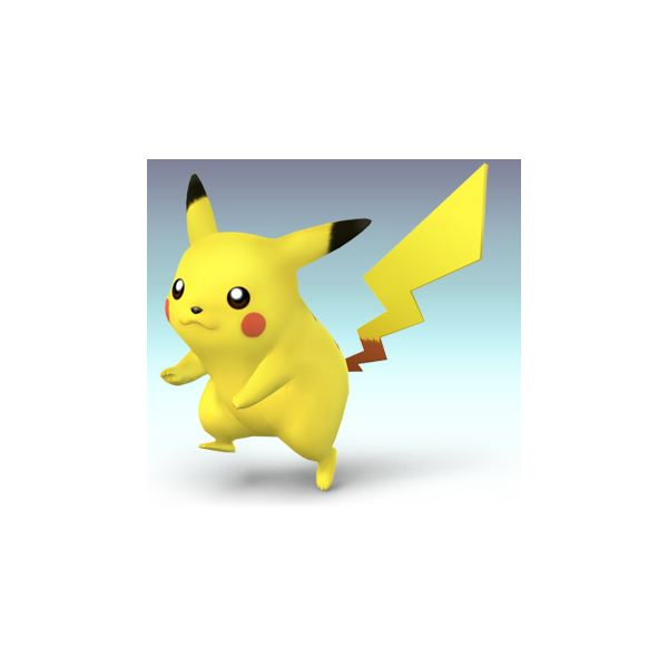 Pikachu from Smash Bros Brawl
