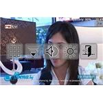 On screen options can configure audio and visual in SPB TV for Android
