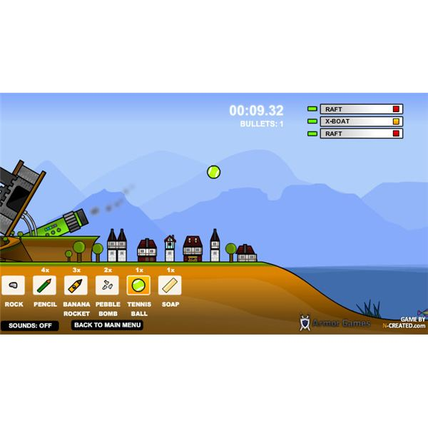Sandcastle - One of the Most Addictive Online PC Games like Angry Birds