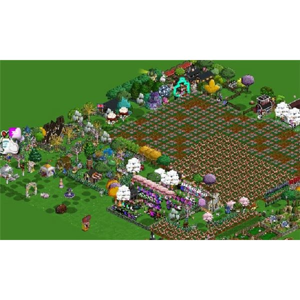 This is an example of just how big a farm can be!