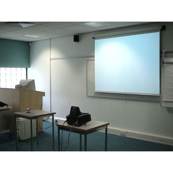 A projector can't be beat for sheer size, but size is worthless if image quality suffers due to poor lighting conditions.