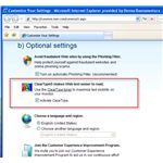 ClearType option in IE