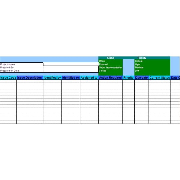 Sample Issue Management Plan  Template For Confronting Issues