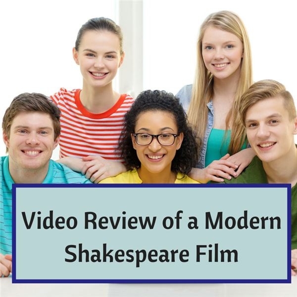 Romeo and Juliet Modern Film Review: High School English Lesson Plan