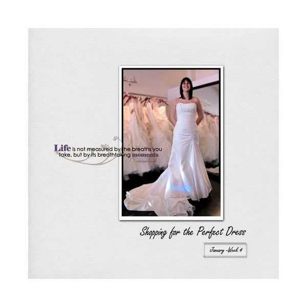 Simple Wedding Dress Quotes: 10 Beautiful Wedding Scrapbook Layouts & Pages, Plus Great