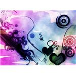 Abstract Hearts and Butterflies Wallpaper