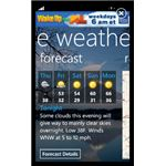 The Weather Channel Windows Phone 7 Weather App