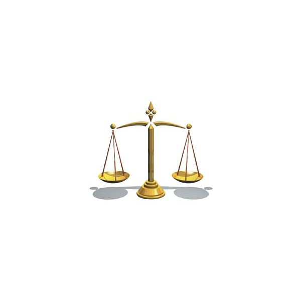 Scales of Justice by Erasoft24/Wikimedia Commons (PD)