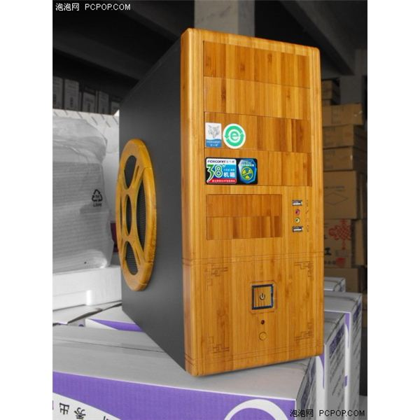 PCPop Bamboo PC Case