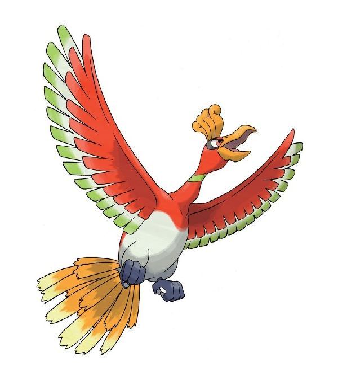 The Legendary Pokemon Ho-Oh