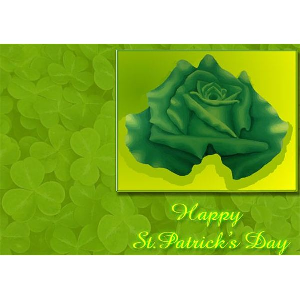 st-patricks-day-scrapbook-backgrounds-rose-clovers