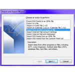 Fig 4 - Transferring Outlook New Computer - Export Import Wizard