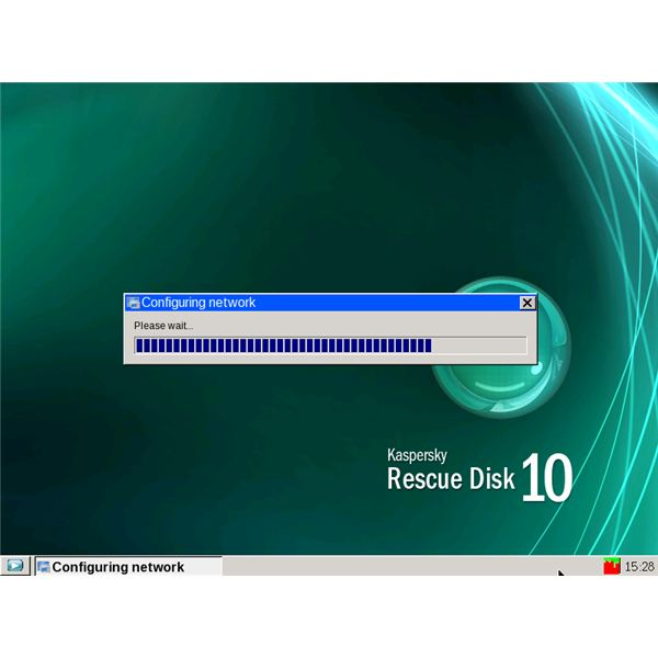 Kaspersky Rescue system in VPC