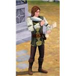 The Sims Medieval Bard seeking inspiration