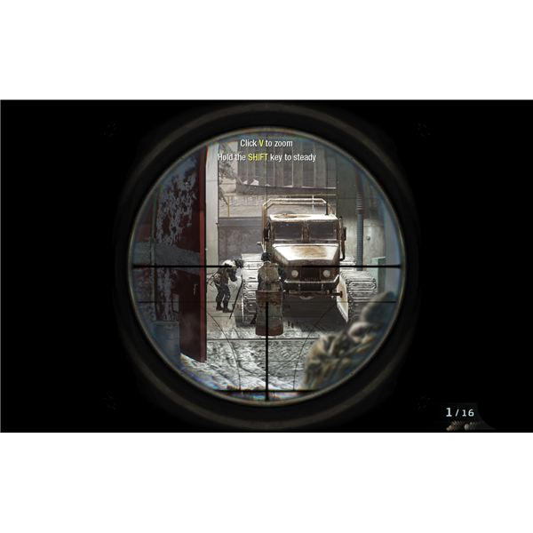 Call of Duty: Black Ops Walkthrough - WMD - Stealthily Taking Out the Guards in WMD