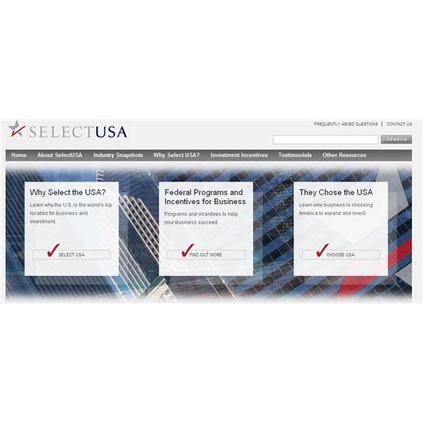 Does the SelectUSA Initiative Really Mean More Jobs for Americans?