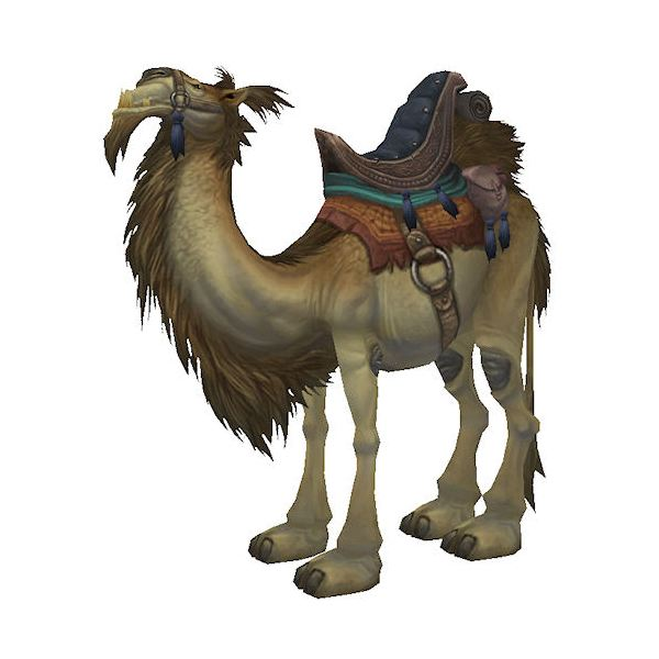 World of Warcraft Ramkahen Camel Mount
