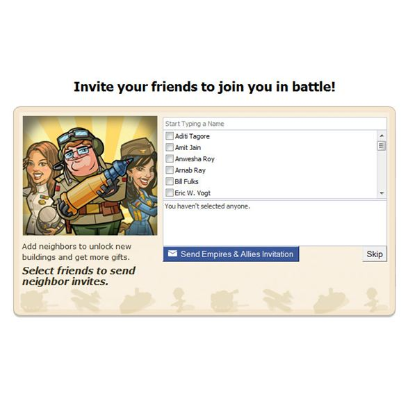 E & A - Invite Your Freinds to Join the Battle