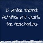 Keep your preschoolers occupied this winter with these fun crafts and activities!