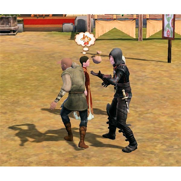 The Sims Medieval Spy Pickpocketing