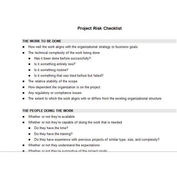 Sample Project Checklist Template | Bright Hub S Free Project Management Execution Templates You Can
