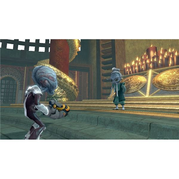 Destroy All Humans Big Willy Unleashed Walthrough -- Part 3 of 4 -- Fantasy Atoll