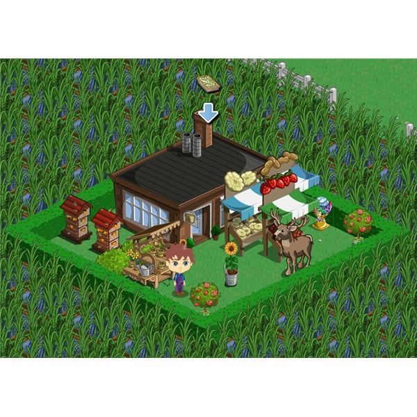 FarmVille Bakery and Stalls