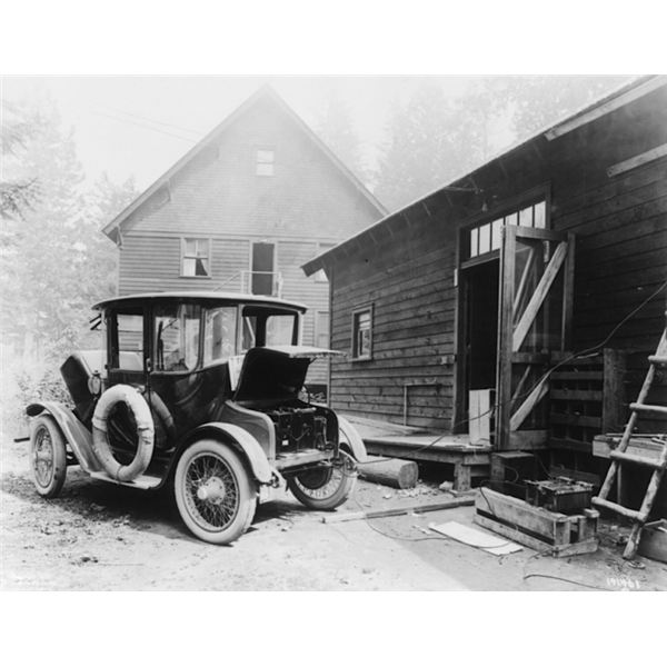 Detroit Electric Car 1919