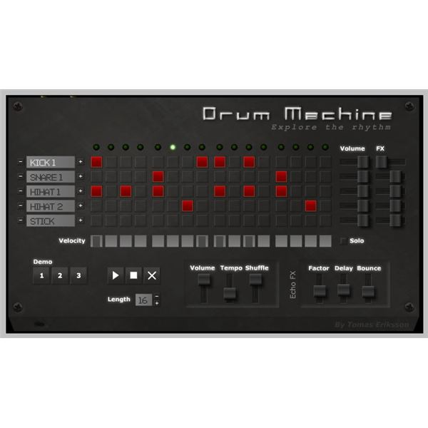 One Motion Drum Machine