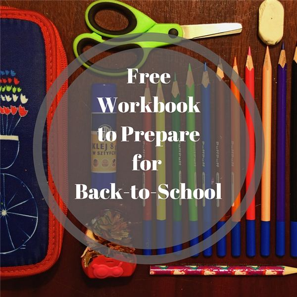 Workbook to Prepare for Back-to-School