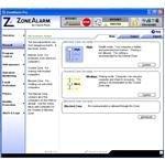 Firewall Window of ZoneAlarm