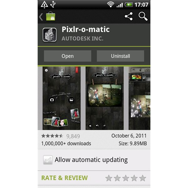Pixlr-o-matic Review: Create Nostalgic Shots on Android