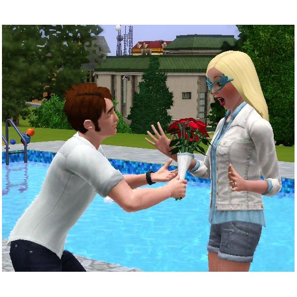 The Sims 3 flowers surprise