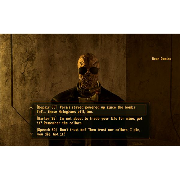 Fallout: New Vegas Walkthrough - Strike Up the Band - Convincing Dean Domino to Stay on the Rooftop