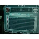 A look at the store screen where you buy ammo etc. in Dead Space.
