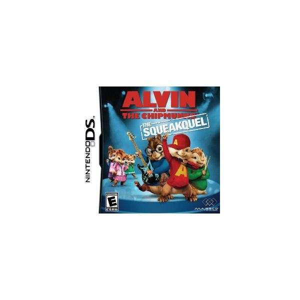 Nintendo DS Review of Alvin and the Chipmunks: The Squeakquel
