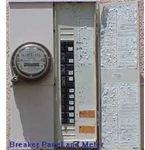 Breaker Panel and Meter