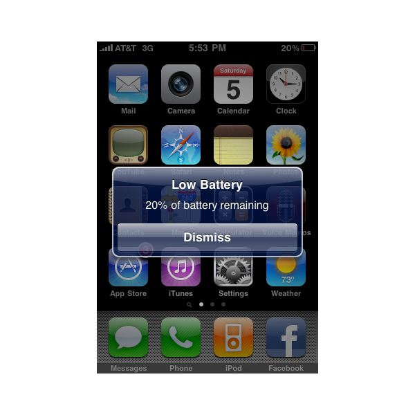 turn on battery percentage iphone iphone battery graphic guide 9855