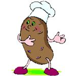 Potato from Microsoft clipart