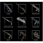 Weapon list from Parabellum