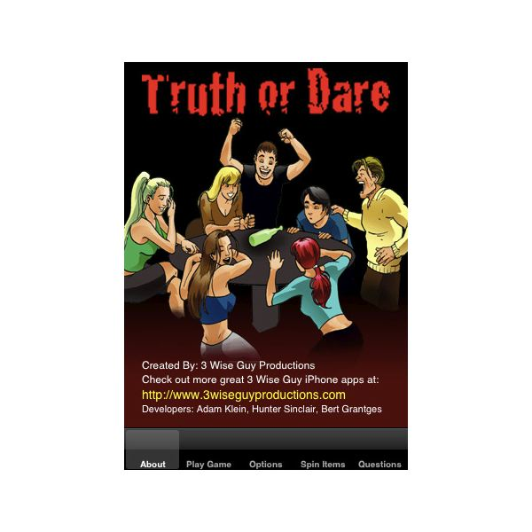Playing Truth Or Dare Iphone Apps