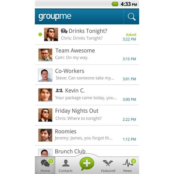 GroupMe Offers Easy Group Messaging and is Cross Platform