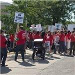 Chicago Teachers Go On Strike, September 2012