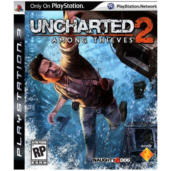 Uncharted 2: Among Thieves cover