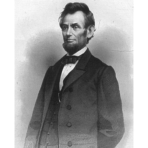 Abraham Lincoln in the Public Domain via Wikimedia Commons