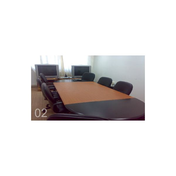Video conferencing room of Mutah University.