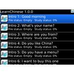 Learn Chinese - Blackberry Second Language application -apps -pic
