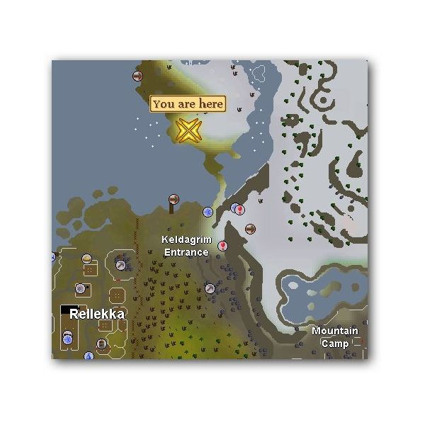 Location of Cerulean Twitch in Runescape