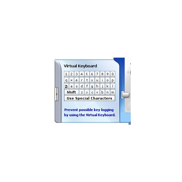 virtual keyboard feature