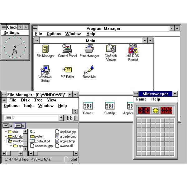 No history of Windows operating system can be complete without Windows 3.1